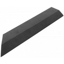 G21 WPC Přechodová lišta pro dlaždice Eben, 38,5 x 7,5 cm rohová (levá) 63910034