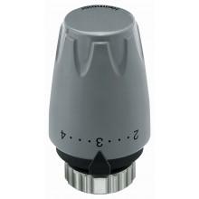 HEIMEIER termostatická hlavice DX s věstavěným čidlem 6700-00.505 tmavě šedá