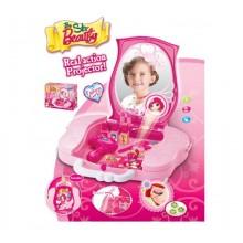 G21 Dětský kosmetický kufřík s příslušenstvím s projekcí 690843