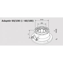 JUNKERS Připojovací adaptér 60/100 s měřícími body 7719003381