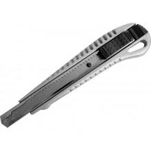 EXTOL CRAFT nůž ulamovací kovový s kovovou výztuhou, 9mm 80048