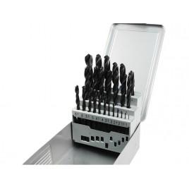 EXTOL PREMIUM vrtáky do kovu HSS, v kovové krabičce, sada 25ks 8801192