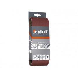 EXTOL PREMIUM plátno brusné nekonečný pás P40, 533x75mm, balení 3ks 8803524