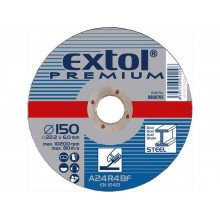 EXTOL PREMIUM kotouč řezný a brusný, brusný na ocel 125x6,0x22,2mm 8808702