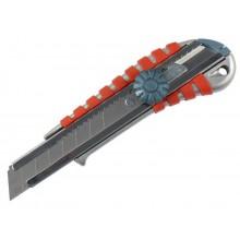 EXTOL PREMIUM nůž ulamovací kovový s kovovou výztuhou a kolečkem, 18mm 8855014