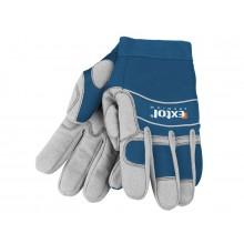 """EXTOL PREMIUM rukavice pracovní polstrované, velikost XXL/12"""" 8856604"""