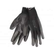 """EXTOL PREMIUM rukavice z polyesteru polomáčené, velikost 10"""", černé 8856637"""