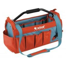 EXTOL PREMIUM taška na nářadí s kovovou rukojetí, 49x23x28cm 8858022