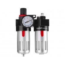 EXTOL PREMIUM regulátor tlaku s filtrem a mlhovým přimazávačem oleje 8865105