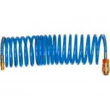 "EXTOL PREMIUM hadice vzduchová spirálová PU s mosaznými rychlospojkami 1/4"" , 8mm, L8m 8865135"