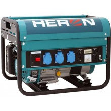 HERON EGM 25 AVR elektrocentrála benzínová 5,5HP / 2,3KW 8896111