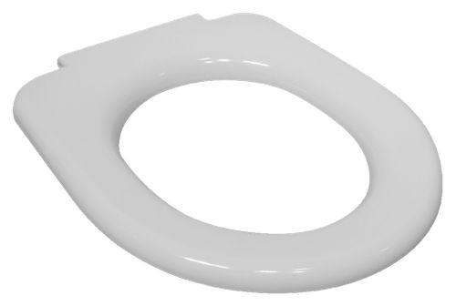 Jika DEEP BY WC sedátko bez poklopu kovové úchyty H8932823000631