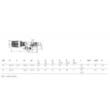 """HEIMEIER omezovač teploty RTL 1/2"""" rohový 9173-02.800"""