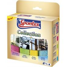 Spontex Mikroutěrka Collection 4 ks