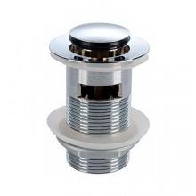 """KOLO Twins Uzavíratelný odtokový ventil """"Click-Clack"""" k umyvadlu s přepadem, chrom 99111000"""