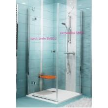 RAVAK SmartLine SMPS-90 R pevná sprchová stěna, chrom+transparent 9SP70A00Z1
