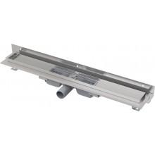 ALCAPLAST Flexible Low Podlahový žlab 850 mm s okrajem pro perforovaný rošt APZ104-850