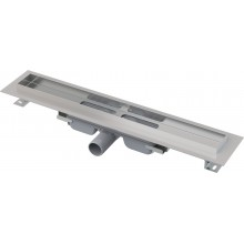 ALCAPLAST Professional Low Podlahový žlab s okrajem pro plný rošt APZ106-750