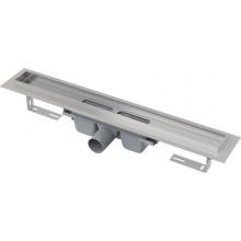 ALCAPLAST Professional Podlahový žlab s okrajem pro plný rošt APZ6-850