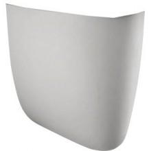 AQUALINE Polosloup k umyvadlu, keramika 16302