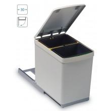 ALVEUS ALBIO 10 odpadkový koš 2 x 7,5l na třídění odpadu