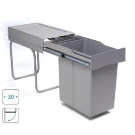 ALVEUS Albio 20 odpadkový koš 2 x 14 litrů