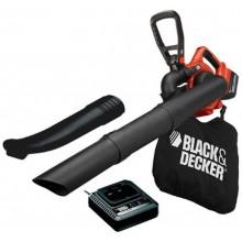 BLACK & DECKER Aku zahradní vysavač a fukar GWC3600L20