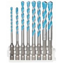 BOSCH Pick and Clic Sada spirálových vrtáků HEX-9 MultiConstruction 2608577141