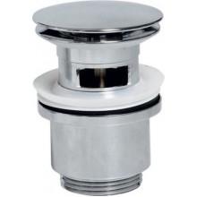 SAPHO Uzavíratelná umyvadlová výpusť kliklak, velká zátka, chrom CV1007