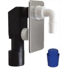 SAPHO podomítkový pračkový sifon 40/50mm, nerez CV1024