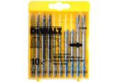 DeWALT 10-dílná sada MIX plátků na dřevo a kov pro přímočarou pilu DT2294