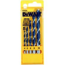 DeWALT Sada vrtáků do dřeva 5ks se středicím hrotem DT4535