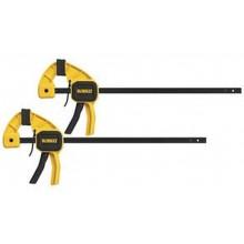DeWALT DWHT0-83158 Svěrky 300 mm, balení 2ks, svírací síla 63 kg