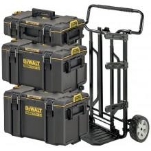 DeWALT Vozík + 3 kufry ToughSystem 2.0, 4v1 DWST83401-1