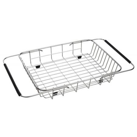 SAPHO drátěný košík ke dřezům 25 x 44 cm, EP100