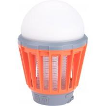 EXTOL LIGHT lucerna turistická s lapačem komárů, 180lm, USB nabíjení, 3x 1W LED 43131