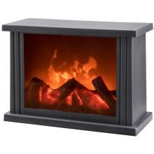 EXTOL LIGHT krb s plápolajícím ohněm LED 43400