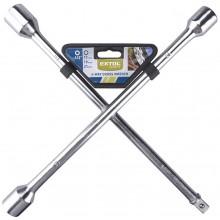"""EXTOL CRAFT klíč křížový na kola, 17-19-21mm-1/2"""" 6651"""