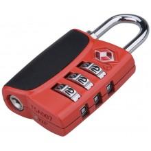 EXTOL PREMIUM zámek kombinační TSA s trojmístným kódem, 61x32x tl.14mm 8857301