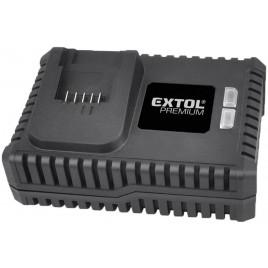 EXTOL PREMIUM nabíječka 20V, 4A 8891892