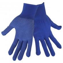 """EXTOL CRAFT rukavice z polyesteru s PVC terčíky na dlani, velikost 9"""" 99714"""