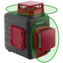 FORTUM laser zelený 2D liniový, křížový samonivelační 4780214