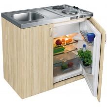 Franke kuchyňský komplet se skříňkou a ledničkou KKN411-1000 , 104.0058.330