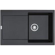 Franke Maris MRG 611, 780x500 mm, fragranitový dřez, onyx 114.0284.833