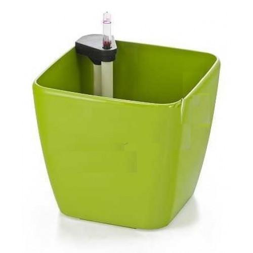 Samozavlažovací květináč G21 Cube maxi zelený 45cm 6392422