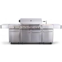 G21 Plynový gril Nevada BBQ kuchyně Premium Line, 7 hořáků + zdarma redukční ventil 6390340