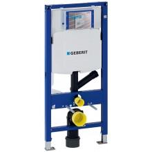 Geberit Duofix - Montážní prvek pro závěsné WC, 112 cm, se splachovací nádržkou pod omítku Sigma 12 cm, pro odsávání zápachu 111.364.00.5