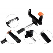 GoGEN Selfie tyč 2 teleskopická, bluetooth černá GOGBTSELFIE2B