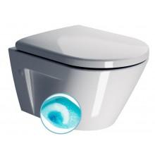 SAPHO NORM WC závěsné, splachování Swirlflush, ExtraGlaze 861611