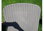 VÝPRODEJ KETER ATLANTIC lehátko, cappuccino 17199231 PRASKLÝ PLAST